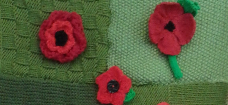 Fabric Poppies