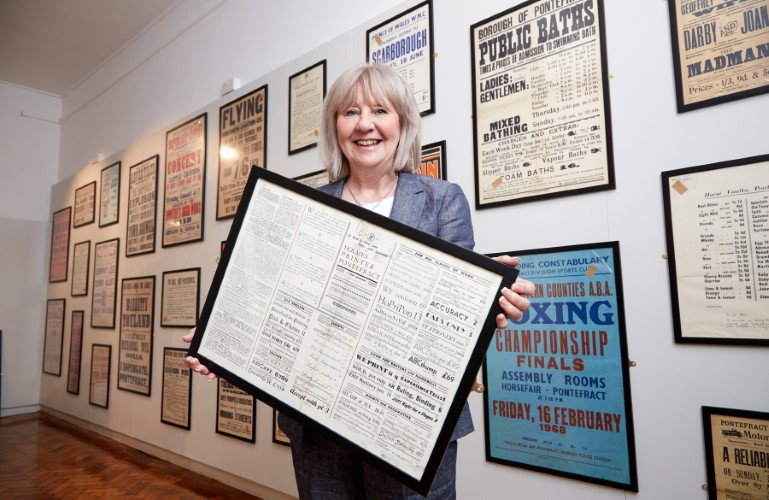 Cllr Garbutt launches new exhibition at Pontefract Museum
