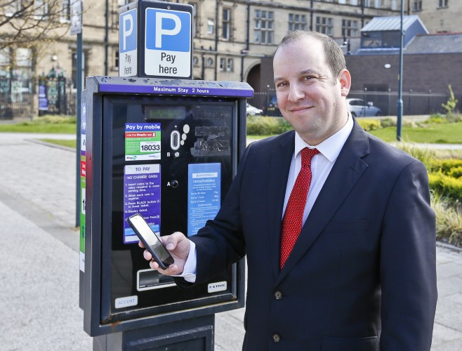 Pay by phone for parking comes to  Wakefield district