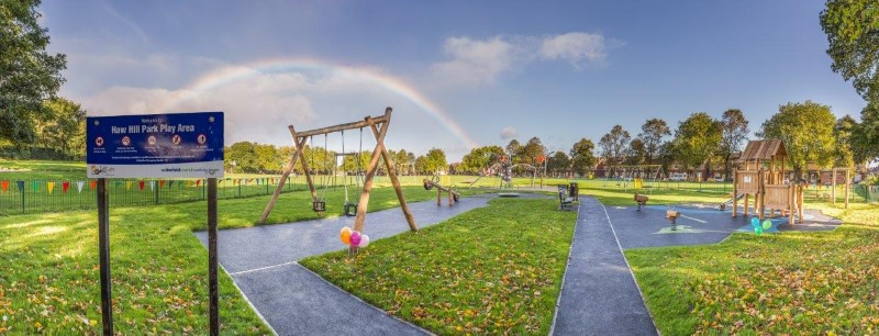 Haw Hill Park play area