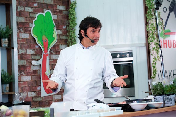 Jean-Christophe Novelli at the 2017 Festival of Food, Drink and Rhubarb