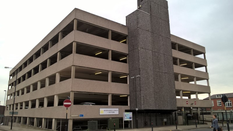 Rishworth Street Car Park in Wakefield