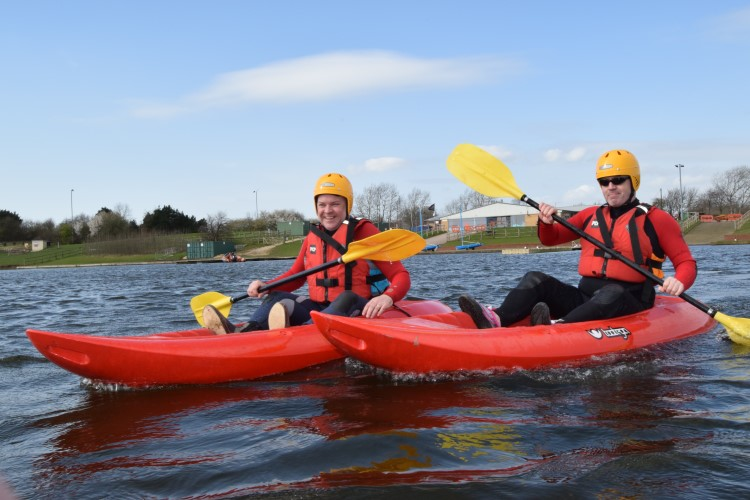 Water sports at Pugneys