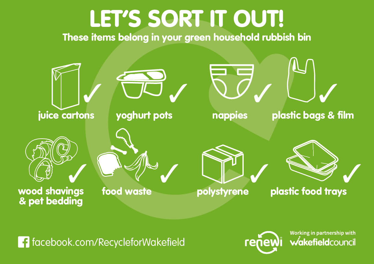 Using your recycling bins - Wakefield Council