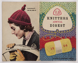 Patons & Baldwins Ltd. Knitters Annual Digest for 1954